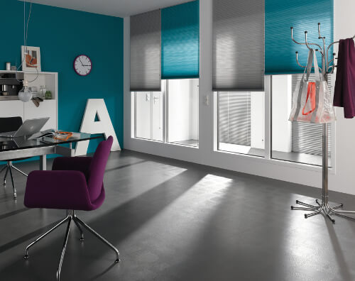 home office blinds roller